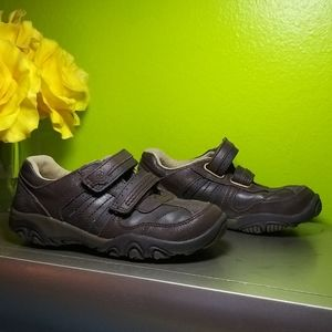 Stride Rite Brown Suede Leather Brown Sneakers